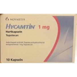 Изображение товара: Гикамтин Hycamtin 1 мг/10 капсул