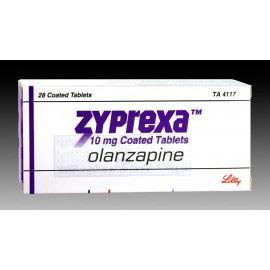 Изображение товара: Зипрекса Zyprexa 10 MG (Olanzapine) 28X10MG