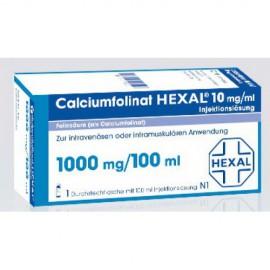 Изображение товара: Кальциумфолинат Calciumfolinat 1000mg/100ml 1 флакон