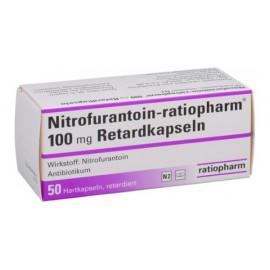 Изображение товара: Нитрофурантоин Nitrofurantoin100 мг/50 капсул
