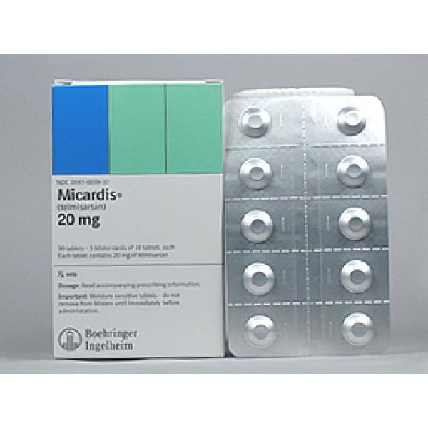 Микардис MICARDIS 20MG /28 Шт