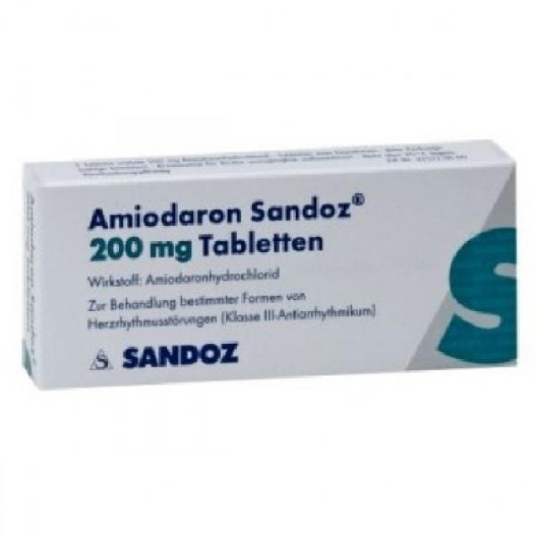 Амиодарон AMIODARONE 200 Мг - 100 Таблеток