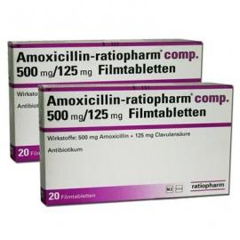 Изображение товара: Амоксициллин AMOXICILLIN 500mg - 20 Шт