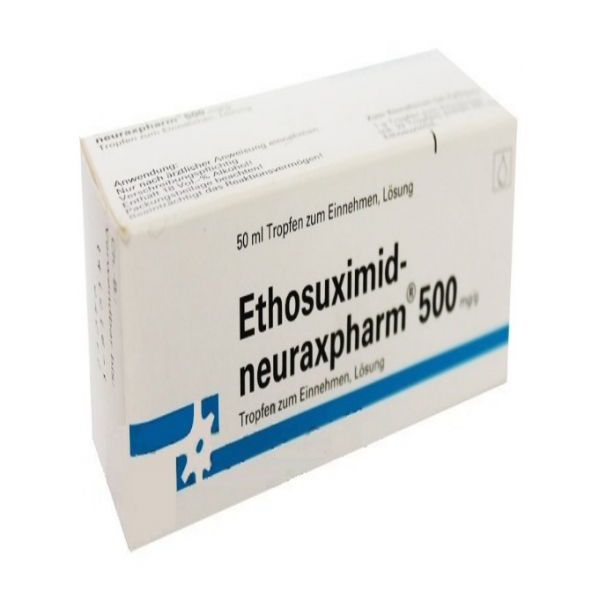 Этосуксимид ETHOSUXIMID 500MG/G  50 ml