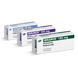 Изображение товара: Ибранс Ibrance (Палбоциклиб) 100 мг/21 капсул