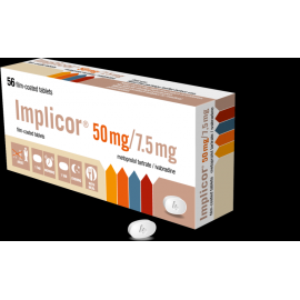 Изображение товара: Импликор IMPLICOR 50MG/7.5MG - 56 Шт