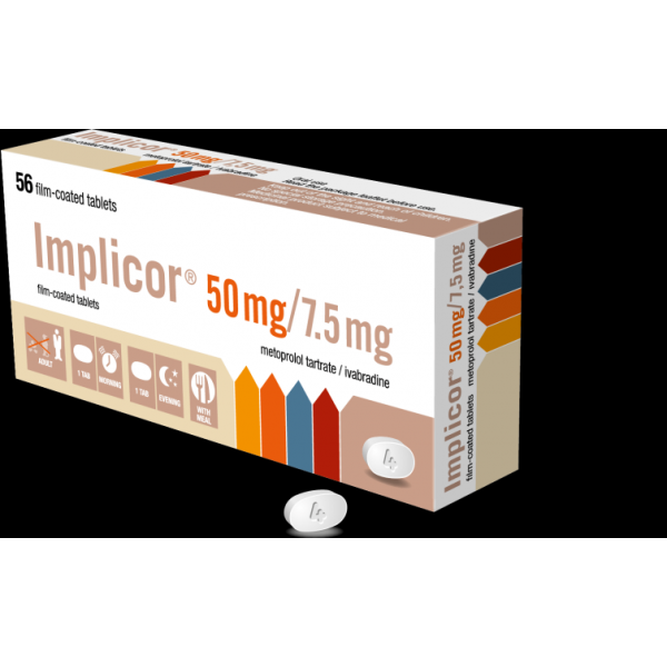 Импликор IMPLICOR 50MG/7.5MG - 56 Шт
