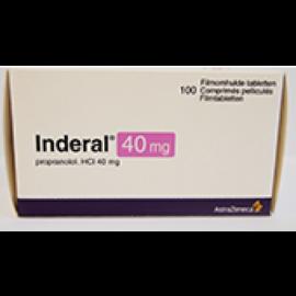 Изображение товара: Индерал INDERAL 40MG - 100 Шт