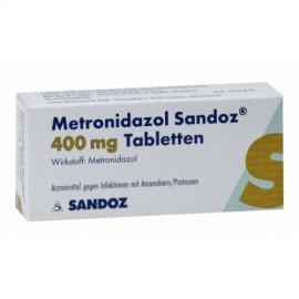 Изображение товара: Метронидазол METRONIDAZOL 400 - 20Шт
