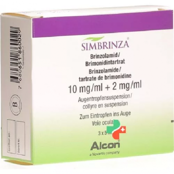 Симбринза SIMBRINZA/ 3х5Ml