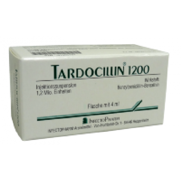 Тардоциллин TARDOCILLIN 1200 2*4Мл