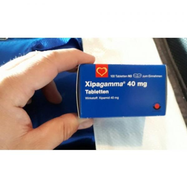 Ксипамид (Аквафор) XIPAMID (AQUAPHOR) - 40mg 100 Шт