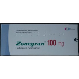 Изображение товара: Зонегран Zonegran 100 мг/28 капсул