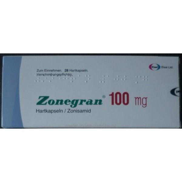 Зонегран Zonegran 100 мг/28 капсул