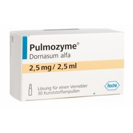 Изображение товара: Пульмозим Pulmozyme 2.500 E./2,5 ml / 6 шт