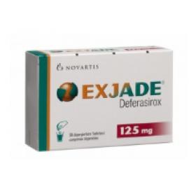 Изображение товара: Эксиджад Exjade 125 мг/84 таблеток