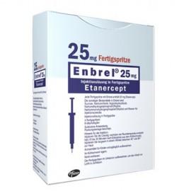 Изображение товара: Энбрел Enbrel 25 мг/4 готовых шприца