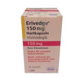 Изображение товара: Эриведж Erivedge (Висмодегиб) 150 мг/28 капсул