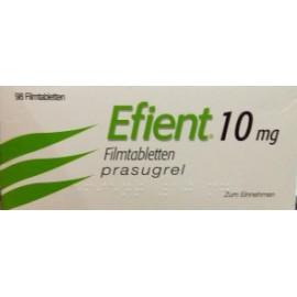 Изображение товара: Эффиент Efient(Прасугрель) 10 мг/98 таблеток
