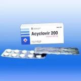 Ацикловир Aciclovir 200/100 шт