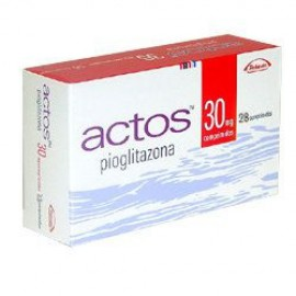 Изображение товара: Актос Actos 30MG/196 Шт