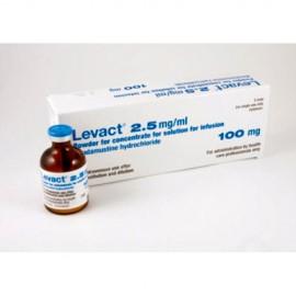 Изображение товара: Бендамустин Levact 100 мг/5 флаконов