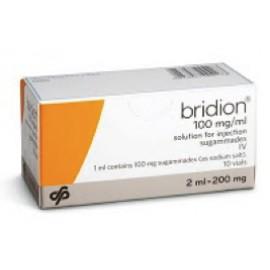 Изображение товара: Брайдион Bridion 100MG/ML 10X2 ml