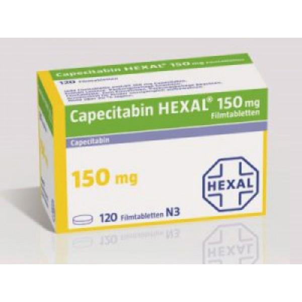 Капецитобин Capecitabin Hexal 150MG/120 шт