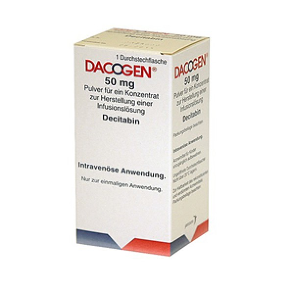 Дакоген Dacogen 50 мг/1 флакон