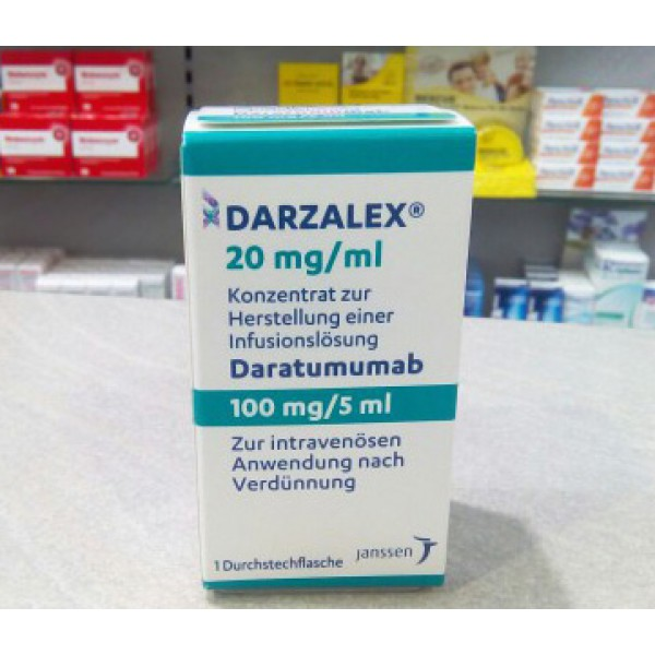 Дарзалекс Darzalex (Даратумумаб) 100 мг/5мл