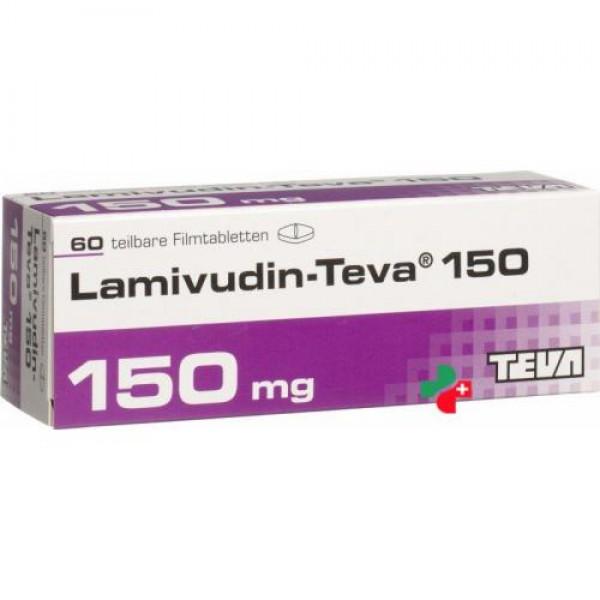Ламивудин Lamivudin ZID HEXAL 150 Мг 180 Шт