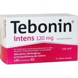 Изображение товара: Тебонин Tebonin Intens 120MG 120 Шт.