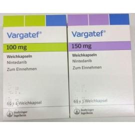 Изображение товара: Варгатеф Vargatef (Нинтеданиб) 100 мг/60 капсул