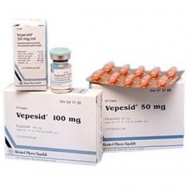 Изображение товара: Вепезид Vepesid 100 мг/10 капсул