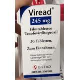 Виреад Viread 245 mg /30 шт