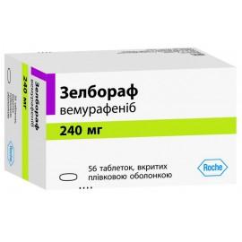 Изображение товара: Зелбораф Zelboraf 240 мг/56 таблеток