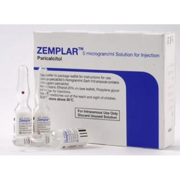 Земплар Zemplar 5 MIKROGRAMM/ML 5X1 ml