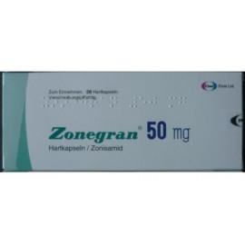 Изображение товара: Зонегран Zonegran 50 мг/28 капсул