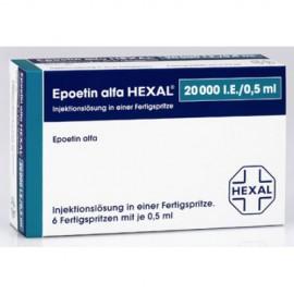 Изображение товара: Эпоэтин Альфа 20000 (Epoetin Alfa 20000) 6X20.000 I.E./0,5ml