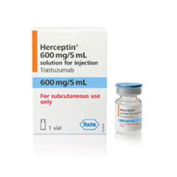 Герцептин Herceptin (Трастузумаб) 600мг/5мл