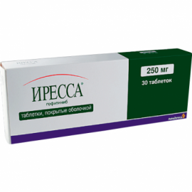Изображение товара: Иресса Iressa 250 мг/30 таблеток