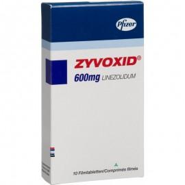 Изображение товара: Где купить таблетки Зивокс 600 мг в СПб